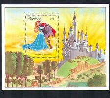 Grenada 1987 Disney/Sleeping Beauty/Castle/Films/Cinema/Animation 1v m/s d00228