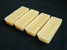 4 X 1 OZ (4oz Total)Fresh Handp Beeswax Bars, 100% Pure Canadian wax, Filtered.