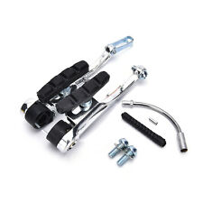 MTB Mountain Bike Bicycle Cycling V-Brake Set Front + Rear Kit Parts Black DH