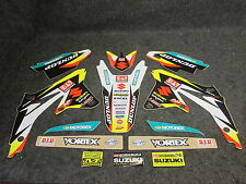 Suzuki RMZ450 2008-2017 Team Yoshimura James Stewart graphics + plastics GR1315