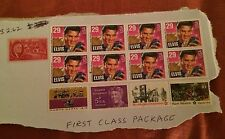 Group of Used Stamps, Elvis, Roosevelt