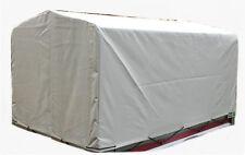 Spriegel und Hochplane Plane Spitzdach 116 cm für Pkw-Anhänger NEU