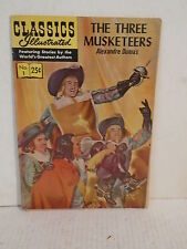 1971 Classics illustrated no.1 the three musketeers comic book alexandre dumas
