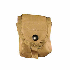 NEW in Bag Frag Hand Grenade Pouch USMC COYOTE Tan  MOLLE small Utility Compass