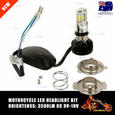 35W 12V Power H4 Car Motorcycle 6LED CREE Headlight Kit 3500lm Light Bulbs Globe