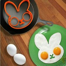 Silicone Rabbit Fried Egg Mold Pancake Ring Shaper Tools Kitchen Gadgets
