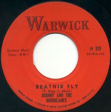 "JOHNNY & THE HURRICANES Beatnik Fly/Sand Storm 7"" 1960 Warwick VG"