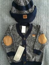 Gymboree Baby Boy 0-3m Sweater And Hat NWT