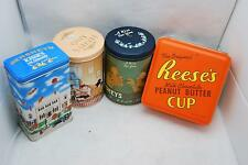 Hershey's and Reeses Assorted 4 Pack Tins