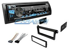 JVC BLUETOOTH CAR STEREO RADIO CD PLAYER RECEIVER W/ COMPLETE INSTALLATION KIT