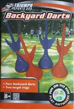 NEW Backyard Lawn Darts Outdoor Summer Fun Toy Game BBQ Party Beach Camping Safe