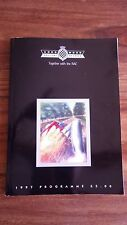 Goodwood festival of speed programme 1997