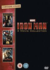 Iron Man Trilogy: 1 2 & 3 Movie Complete Box Set Collection   New   Sealed   DVD