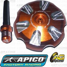 Apico Orange Alloy Fuel Cap Breather Pipe For KTM SX 125 2016 Motocross Enduro