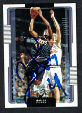 James Posey #42 signed autograph auto 2001-2002 Upper Deck Basketball Card