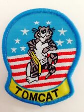 US AIRFORCE TOP GUN ~~ TOMCAT SEW ON Patch Badge COSTUME DRESS UP COSPLAY