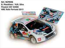 DECALS 1/43 PEUGEOT 207 S2000 -#83 MAGALHAES - RALLYE WRC PORTUGAL 2013- NCM098