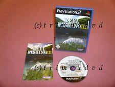 PS2 _ Reel Fishing III (3) _ Erstausgabe TOP-Zustand _ Über 1000 Spiele im SHOP