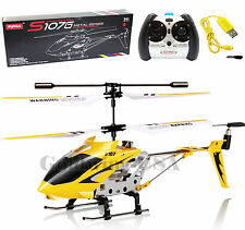 Syma S107G Helicopter 3.5CH Mini Metal Remote Control RC Helicopter GYRO Genuine