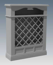 SOLID TIMBER WINE RACK + DRAWERS - Make Your Own & SAVE $ - Full Plans 2d & 3D