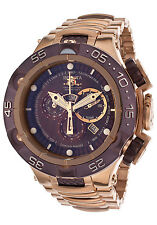 15920 Invicta 50mm Subaqua Noma V Swiss Chrono Rose-Gold Plated Bracelet Watch