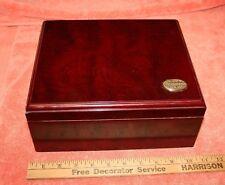 Vintage Wood Thompson & Co. Inc. Medium Size Cigar Humidor