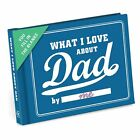 What I Love about DAD by Me! Fill in the blanks Journal Book Father's Day Pa Pop