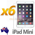 6X Ultra Clear LCD Screen Protector For Apple New iPad Mini 1 2 3 Cover Film
