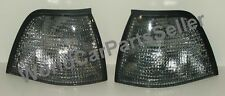 BMW E36 3 Series Sedan Wagon Euro SMOKE Corner Lights Turn Signals PAIR 92-1998