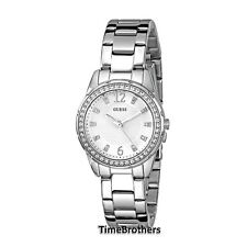 NEW GUESS WATCH for Women * Silver Tone Stainless Steel * Petite * U0445L1
