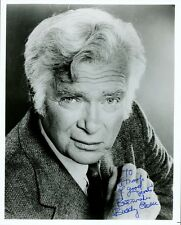 BUDDY EBSEN Signed Photo - Beverley Hillbillies / Barnaby Jones