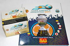 Panini copa america argentina 2011-display box 50 bolsas calidad + Album