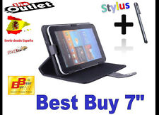 "FUNDA NEGRA TABLET BEST BUY 7"" UNIVERSAL BARATA EL PAIS MUNDO PERIODICO AS MARCA"