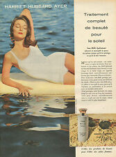 Publicité Advertising 1960  HARRIET HUBBARD AYER produit de beauté
