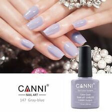 147 CANNI GRAY BLUE UV LED SOAK OFF GEL COLORS NAIL ART 7.3ml UK SELLER