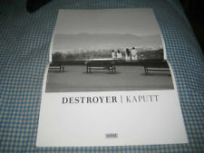DESTROYER-(kaputt)-1 POSTER-12X18-NMINT-FOLDED-RARE