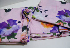 Pottery Barn Kids Multi Colors Hannah Floral Cotton Full Queen Duvet Cover New