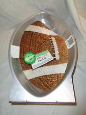 "Wilton First and Ten Football Shaped Cake Pan- 13"" long X 8.25"" wide"