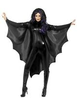 VAMPIRE BAT WINGS ADULT LADIES WOMENS COSTUME ACCESSORY CAPE BLACK HALLOWEEN