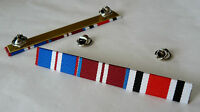 GOLDEN JUBILEE + DIAMOND JUBILEE + SPECIAL CONSTABULARY MEDAL RIBBON BAR