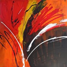 "SUPERB ORIGINAL ROB VAN HEERTUM ""Burn"" ABSTRACT PAINTING"