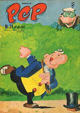 PEP 1969 nr. 24 - OLIVIER BLUNDER/GERT BALS/JAN VAN BEVEREN/COMICS