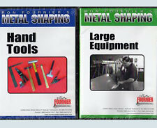 "Metal Work Basics Set: ""Hand Tools DVD"", plus ""Large Equipment DVD"" (2 DVD Set)"