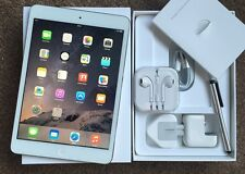 #NEW LIKE# Apple iPad Mini 2 RETINA Display 32GB, Wi-Fi, 7.9in - White + EXTRAS