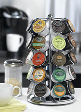 Nifty K Cup Holder Carousel Keurig Coffee 35 Pod Tower Lazy Susan Organize Store