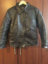Bill Kelso Westfall Halfbelt badalassi cow hide jacket. size 36