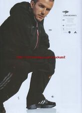 "Adidas Clima Mechanic ""David Beckham"" 2003 Magazine Advert #312"