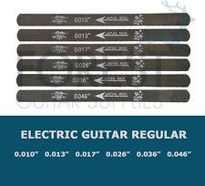 Guitar gauged nut slotting files 6 set GAUGE (10-46) Uo-Chikyu, Hiroshima files
