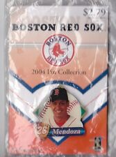 BOSTON RED SOX 2004 WORLD SERIES WINNER GLOBE PROMO PIN SERIES RAMIRO MENDOZA