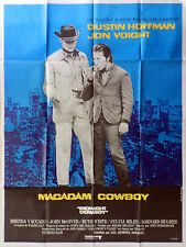 MIDNIGHT COWBOY 1969 Dustin Hoffman, Jon Voight John Schlesinger FRENCH POSTER
